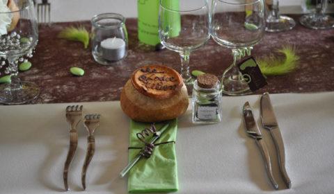 décoration table mariage traiteur